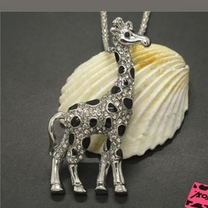 Betsy Johnson Giraffe Necklace